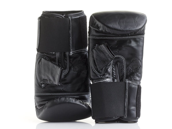 PRO Executive Black Leather Bag Gloves