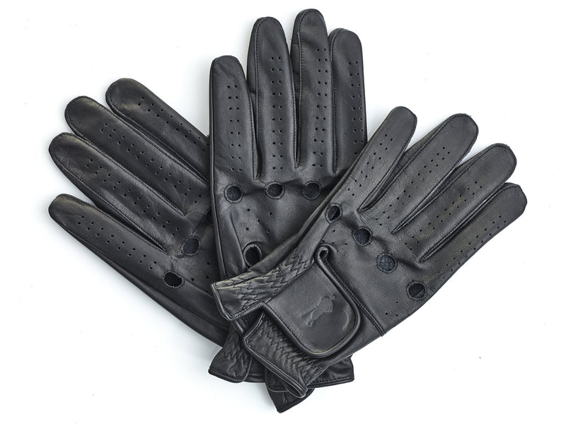 PRO Executive Black Leather Golf Gloves (3 Pack)