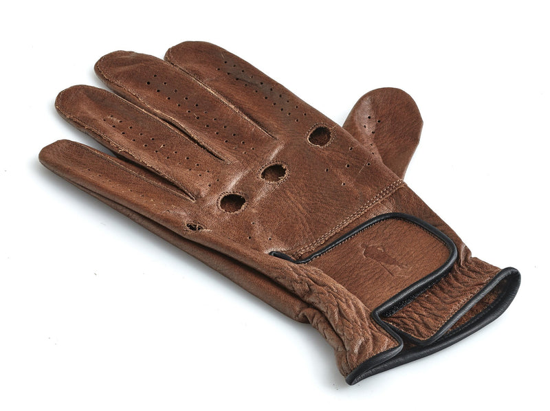 PRO Heritage Brown Leather Golf Gloves (3 Pack)