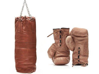 Deluxe Leather Boxing Package