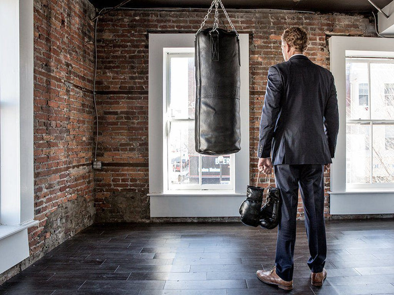 Executive Leather Boxing Package