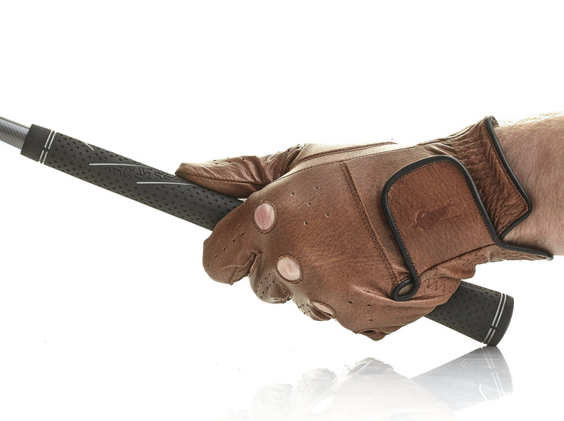 PRO Heritage Brown Leather Golf Glove (L/H)