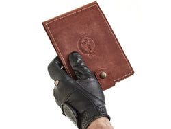 Heritage Leather Golf Scorecard Holder