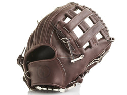 PRO Heritage Brown Leather Baseball Glove, Infield