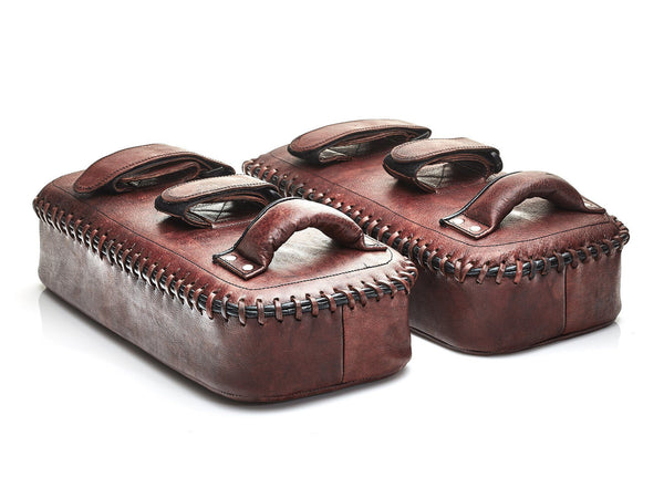 Heritage Leather Thai Kick Pad Set