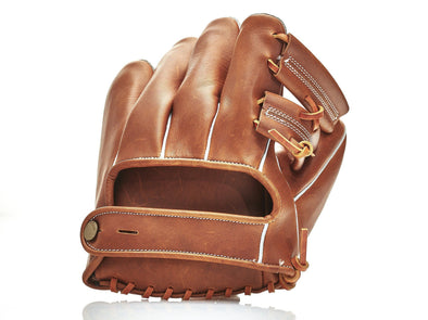 MVP Baseball - Deluxe 1950's Leather Baseball Glove