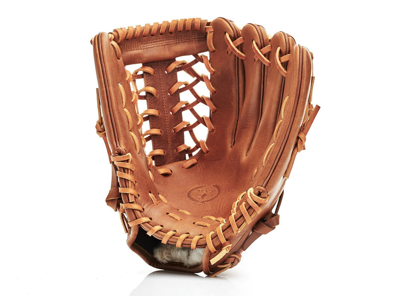 MVP Baseball - Deluxe Leather Baseball Glove, Outfield 12.75 PRO