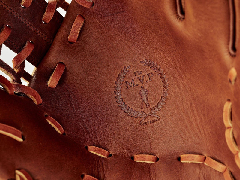 PRO Deluxe Tan Leather Baseball Glove, Outfield