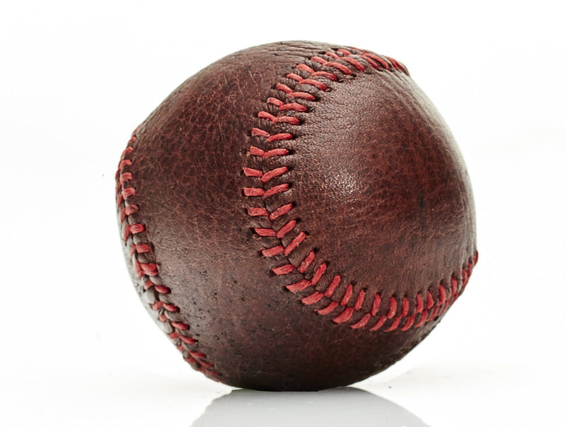 MVP Baseball - Heritage Leather Baseball, Red Stitch