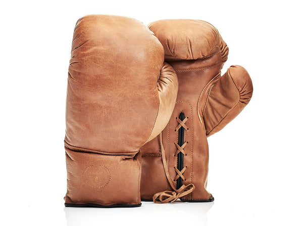 MVP Boxing - Deluxe Leather Boxing Gloves (Lace Up)