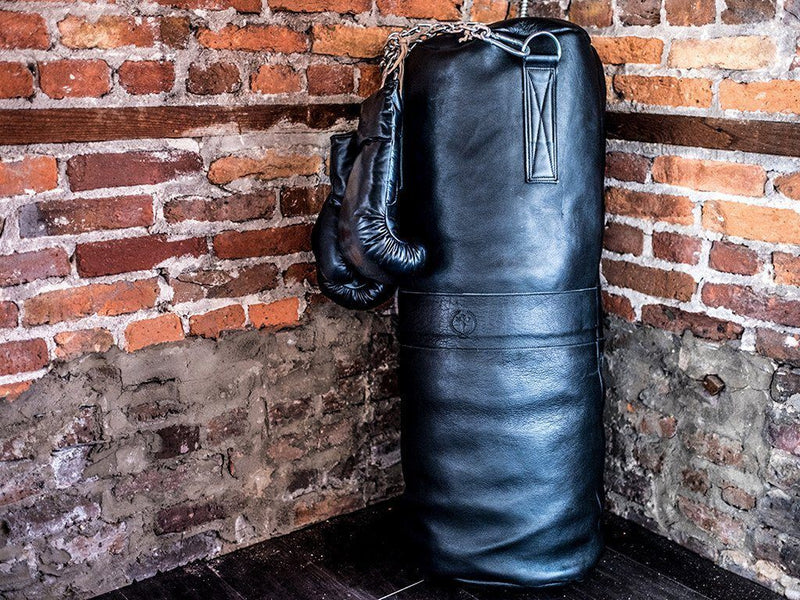 MVP Boxing - Executive Leather Heavy Punching Bag (un-filled)