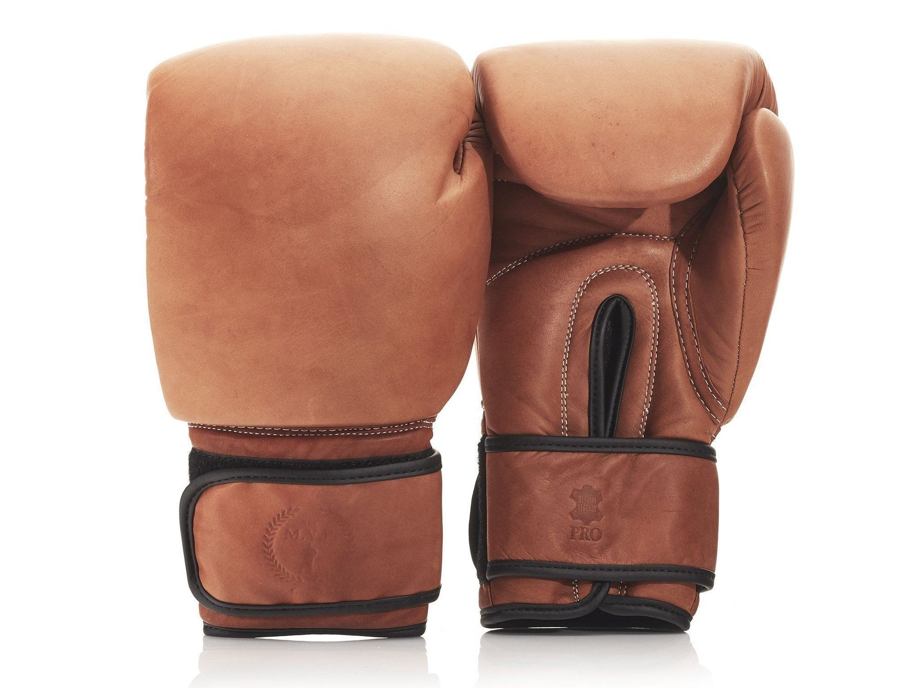 Heritage Vintage Brown Leather Boxing Package   The MVP