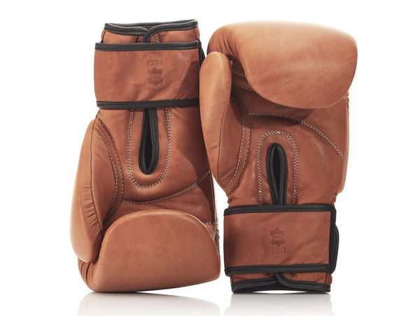 PRO Deluxe Tan Leather Boxing Package   The MVP - MODEST