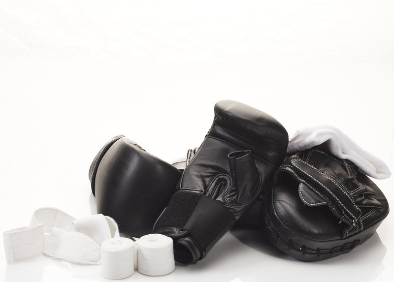 MVP Boxing - PRO Executive Black Leather Bag Gloves
