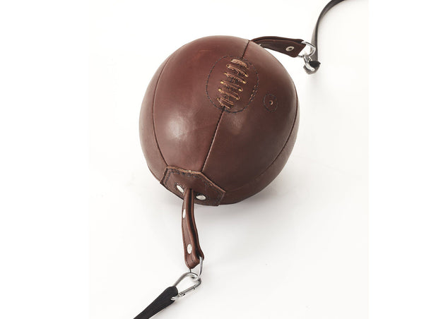 MVP Boxing - PRO Heritage Brown Leather Boxing Speed Ball, Double End