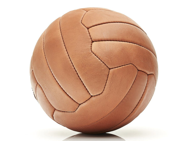 MVP Leather Balls - Deluxe Leather 18P Soccer Ball
