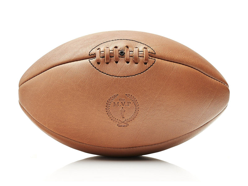 MVP Leather Balls - Deluxe Leather Rugby Ball