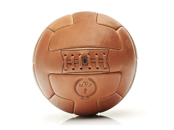 MVP Leather Balls - Deluxe Leather T Soccer Ball