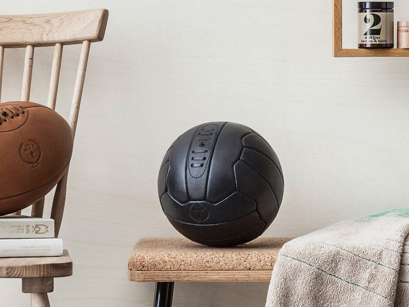 MVP Leather Balls - Executive Leather 18P Soccer Ball