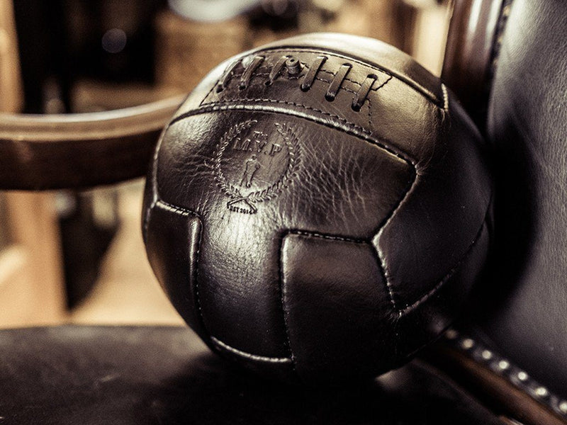 MVP Leather Balls - Executive Leather T Soccer Ball