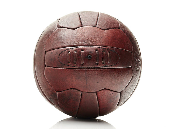 MVP Leather Balls - Heritage Leather 18P Soccer Ball