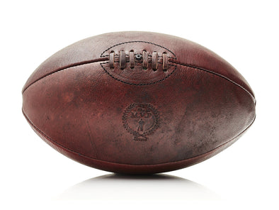 MVP Leather Balls - Heritage Leather Rugby Ball