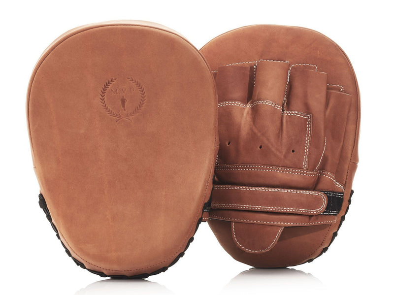 PRO Deluxe Tan Leather Focus Pads