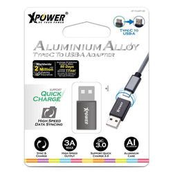 XPower Aluminium Alloy USB Type-C to USB-A Adapter
