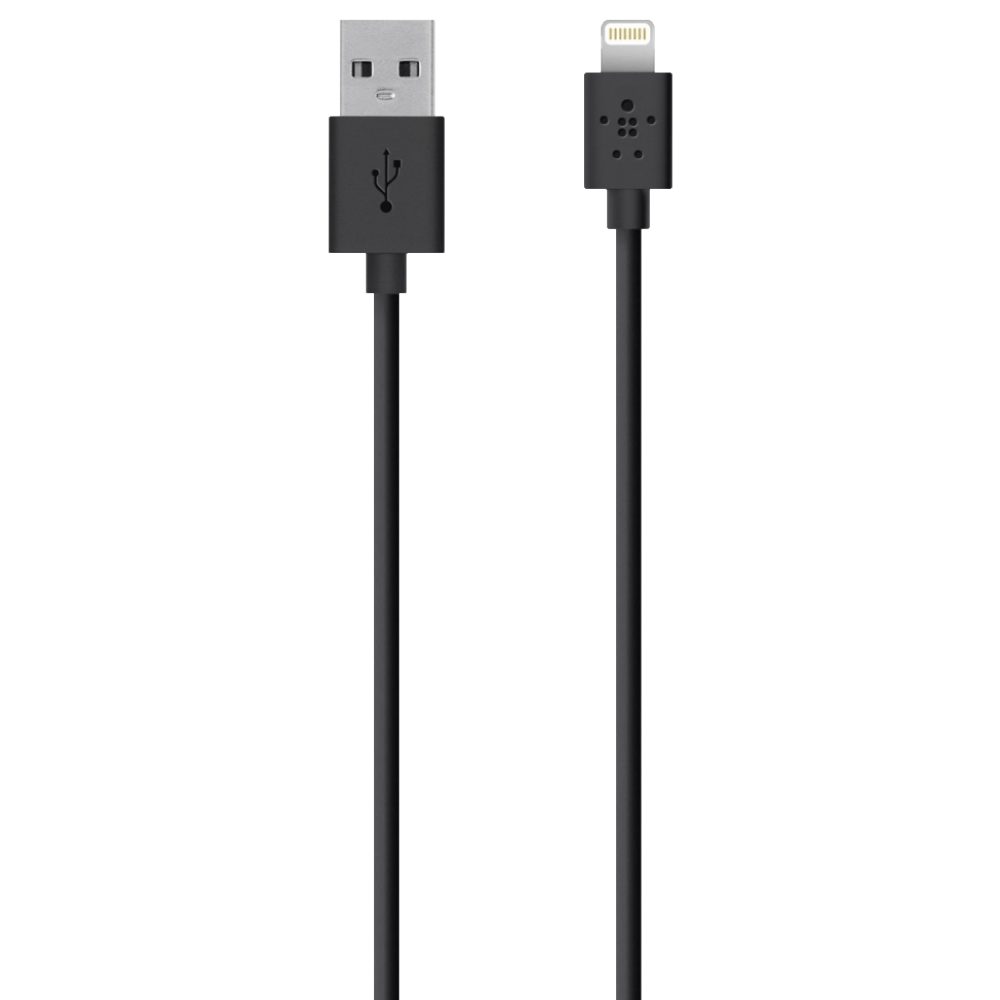 Belkin SYNC/CHARGE LIGHTNING CABLE 2.4A, 2 METERS - Gadgitechstore.com