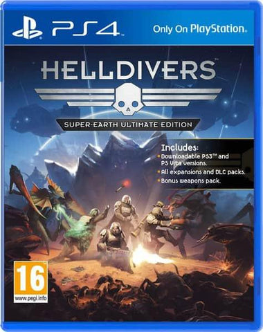 Helldivers (PS4 Game) - GadgitechStore.com Lebanon