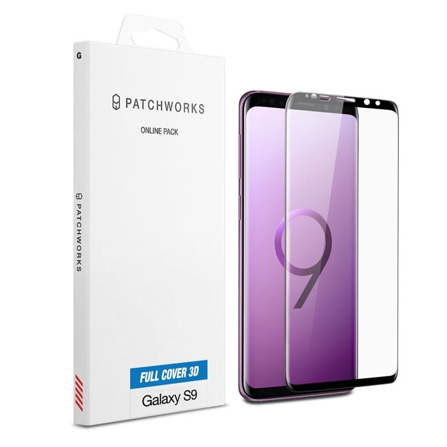 Patchworks ITG Full Cover Glass Screen Protector For Galaxy S9/S9+