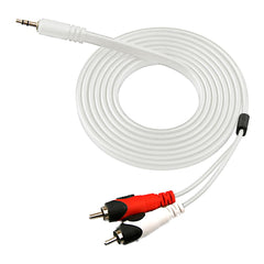 Naztech 3.5mm Stereo to RCA Adapter Cable - Gadgitechstore.com