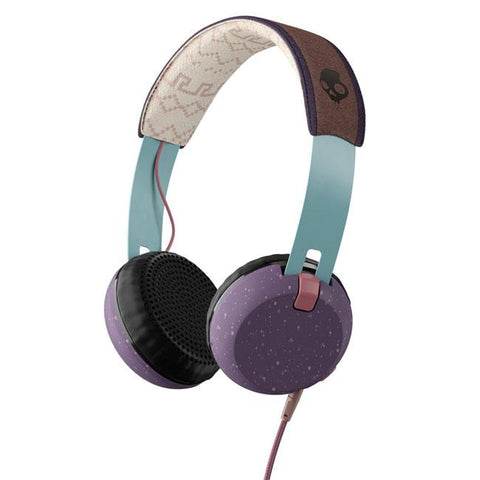 Skullcandy Grind On-Ear Headphones with Built-In Mic and Remote