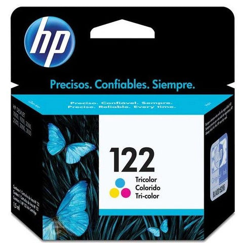 HP 122 Tri-color Original Ink Cartridge