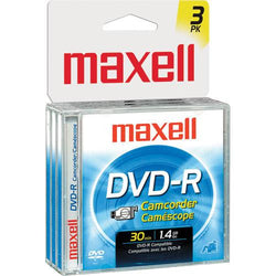 Maxell DVD-R Disc (Pack of 3)