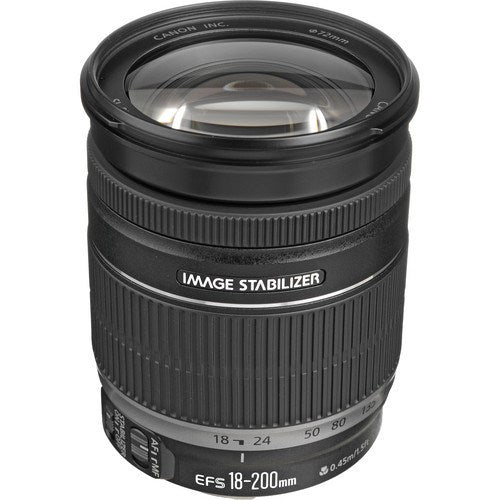 Canon EF-S 18-200mm f/3.5-5.6 IS Lens - Gadgitechstore.com