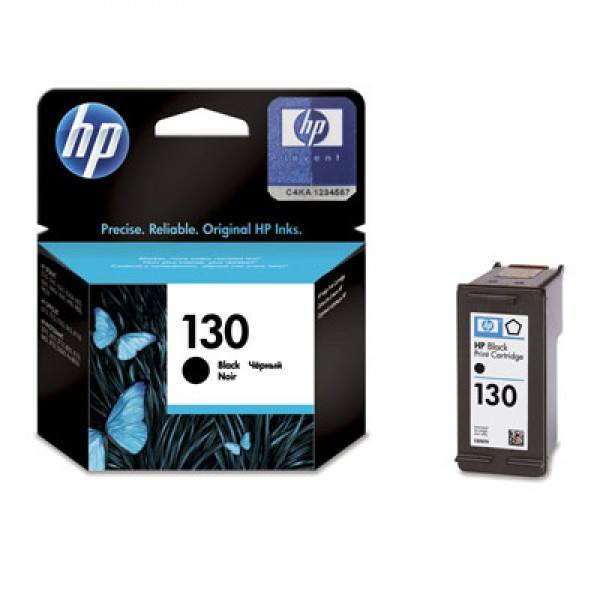 HP 130 Black Original Ink Cartridge - Gadgitechstore.com