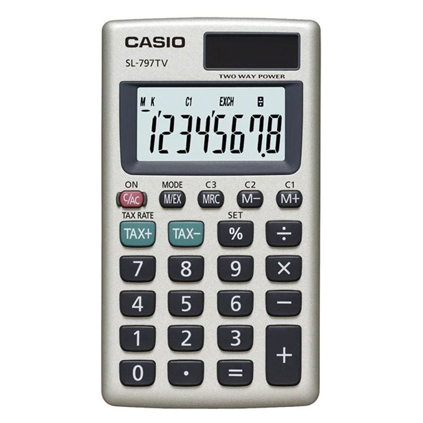 Casio Portable Calculator SL-797TV