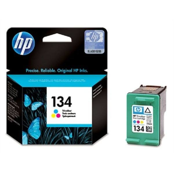 HP 134 Tri-color Original Ink Cartridge - Gadgitechstore.com