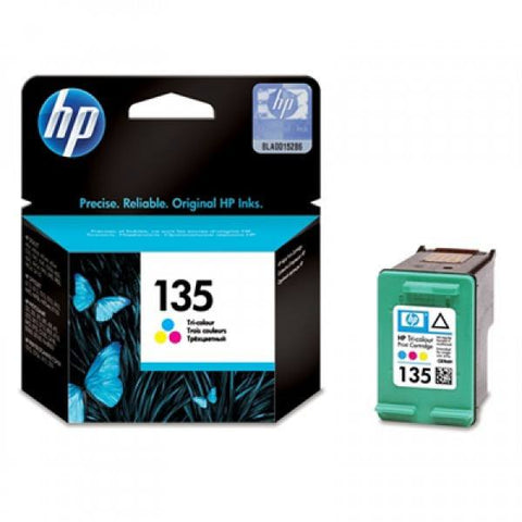 HP 135 Tri-color Original Ink Cartridge