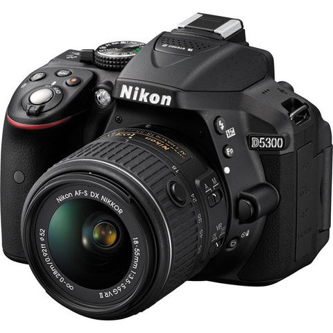 Nikon D5300 DSLR Camera with 18-55mm Lens - GadgitechStore.com Lebanon - 1