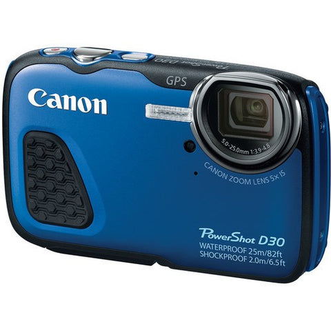 Canon PowerShot D30 Waterproof Digital Camera - Gadgitechstore.com