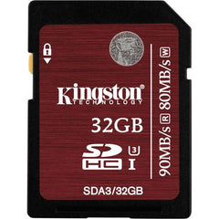 Kingston UHS-1 SDHC Memory Card (Class-10) - Gadgitechstore.com