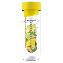 Asobu Flavour It Glass Water Bottle with Fruit Infuser