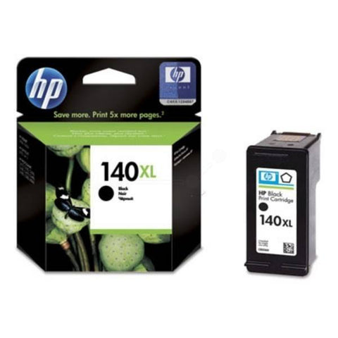 HP 140XL High Yield Black Original Ink Cartridge