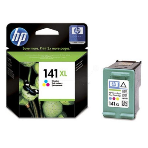 HP 141XL High Yield Tri-color Original Ink Cartridge