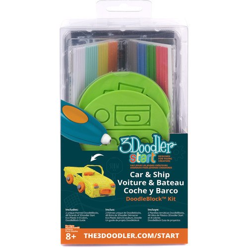 3Doodler Start DoodleBlock Kit (Vehicle Set) - Gadgitechstore.com