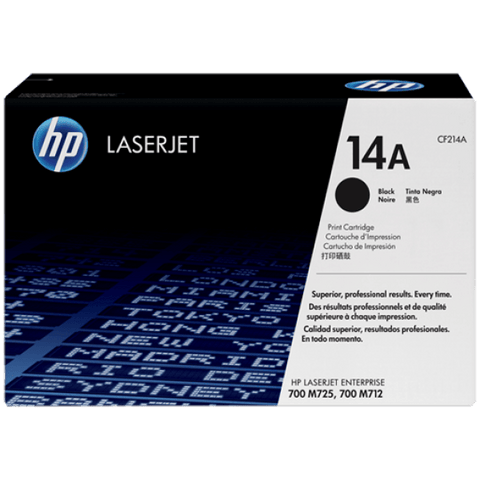 HP 14A Black Original LaserJet Toner Cartridge - Gadgitechstore.com