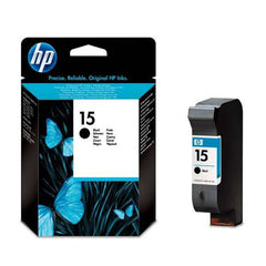 HP 15 Light-use Black Original Ink Cartridge