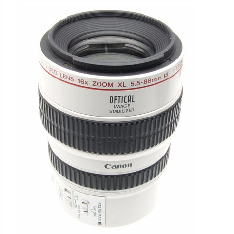 Canon 16X Zoom Lens XL 5.5-88mm IS II